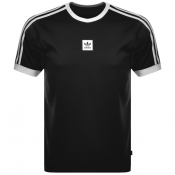 Adidas Originals Club Jersey T Shirt Black
