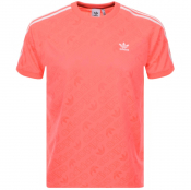 Product Image for adidas Originals Mono Jersey T Shirt Pink