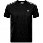 adidas Originals Mono Jersey T Shirt Black