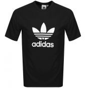 adidas Originals Trefoil T Shirt Black