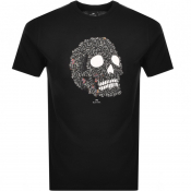 PS By Paul Smith Skull T Shirt Black