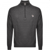 Product Image for PS By Paul Smith Pullover Zip Neck Jumper Grey