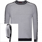 Product Image for HUGO Subu Knit Jumper White
