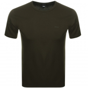 Product Image for BOSS HUGO BOSS Crew Neck Lecco 80 T Shirt Khaki
