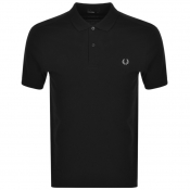 Product Image for Fred Perry Plain Polo T Shirt Black