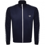 Fred Perry Laurel Taped Track Top Blue