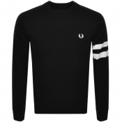 Fred Perry Crew Neck Knit Jumper Black