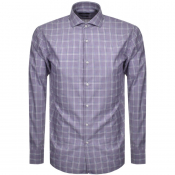 BOSS HUGO BOSS Slim Fit Jason Shirt Purple