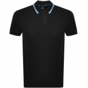 Product Image for BOSS Athleisure Short Sleeved Polo T Shirt Black
