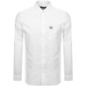 Product Image for Fred Perry Long Sleeved Oxford Shirt White
