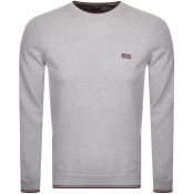 Product Image for BOSS Athleisure Rimex Knitted Jumper Grey