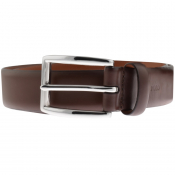 Ralph Lauren Harness Leather Belt Brown