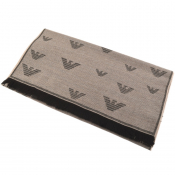 Product Image for Emporio Armani Logo Scarf Beige