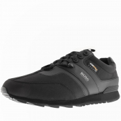 BOSS HUGO BOSS Parkour Runn Cordura Trainers Black