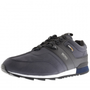 Product Image for BOSS HUGO BOSS Parkour Runn Cordura Trainers Navy
