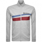 Product Image for BOSS HUGO BOSS Full Zip Sweatshirt Grey