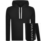 Product Image for BOSS HUGO BOSS Lounge Hoodie Black