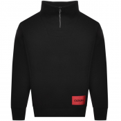Product Image for HUGO Daipeh Oversized Sweatshirt Black