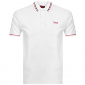 Product Image for HUGO Daruso194 Polo T Shirt White