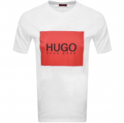 Product Image for HUGO Dolive 194 T Shirt White