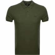 BOSS Athleisure Piro Polo T Shirt Green