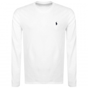 Product Image for Ralph Lauren Long Sleeved Crew Neck T Shirt White