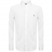 Ralph Lauren Oxford Knit Pique Shirt White