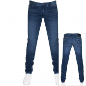 Armani Exchange J14 Skinny Fit Jeans Blue