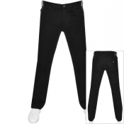 Product Image for Emporio Armani J21 Regular Fit Jeans Black