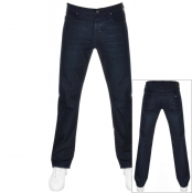 Product Image for Emporio Armani J21 Regular Fit Jeans Navy