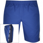Lacoste Sport Taped Shorts Blue