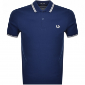 Product Image for Fred Perry Twin Tipped Polo T Shirt Blue