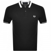 Product Image for Fred Perry Block Tipped Polo T Shirt Black