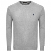 Product Image for Ralph Lauren Knit Jumper Grey