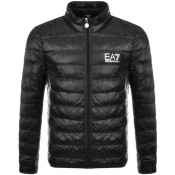 EA7 Emporio Armani Quilted Jacket Black