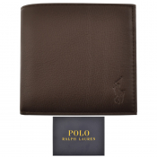 Product Image for Ralph Lauren Leather Wallet Brown