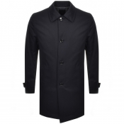 Product Image for BOSS HUGO BOSS Dain Overcoat Navy