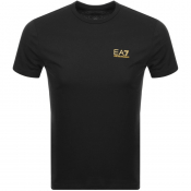Product Image for EA7 Emporio Armani Core ID Crew Neck T Shirt Black