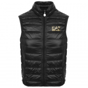 Product Image for EA7 Emporio Armani Quilted Gilet Black