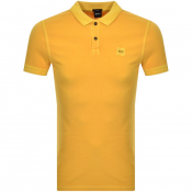 Product Image for BOSS Casual Prime Polo T Shirt Yellow