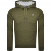 Lacoste Sport Pullover Hoodie Green