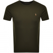 Ralph Lauren Crew Neck T Shirt Green