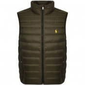 Product Image for Ralph Lauren Holden Down Gilet Green