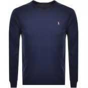Product Image for Ralph Lauren Long Sleeved T Shirt Navy