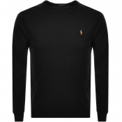 Product Image for Ralph Lauren Long Sleeved T Shirt Black