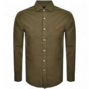 Product Image for Ralph Lauren Long Sleeved Shirt Green