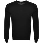 Product Image for BOSS HUGO BOSS Botto Knit Jumper Black