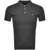 Product Image for Ralph Lauren Slim Fit Polo T Shirt Grey