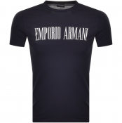 Product Image for Emporio Armani Crew Neck T Shirt Navy