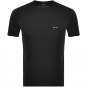 Emporio Armani Pocket Logo T Shirt Black
